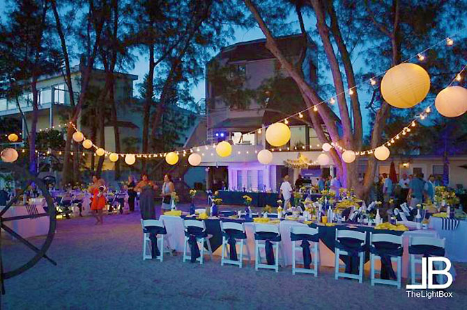 Sunset Beach House - Beach Wedding Reception