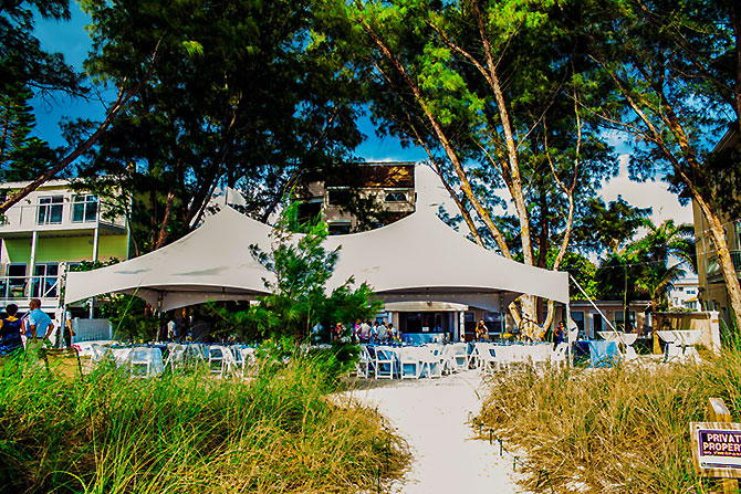 Sunset Beach House - Oceanside Wedding Reception Venue