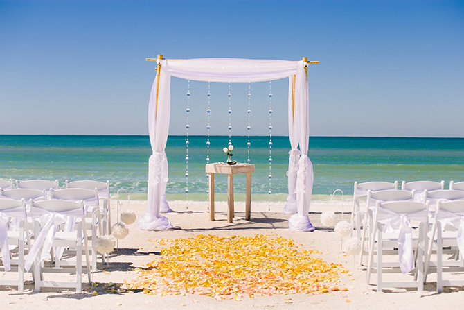 Tide The Knot Beach Wedding Packages