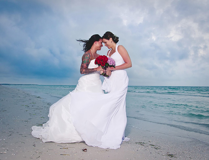 St Petersburg Florida Gay Wedding Planner Gay Beach