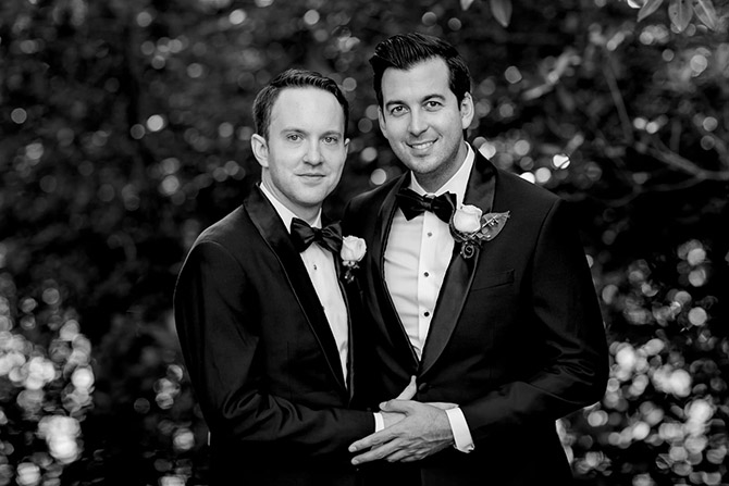 Gay Wedding California - Tiny House Photo LGBT Wedding Photographer