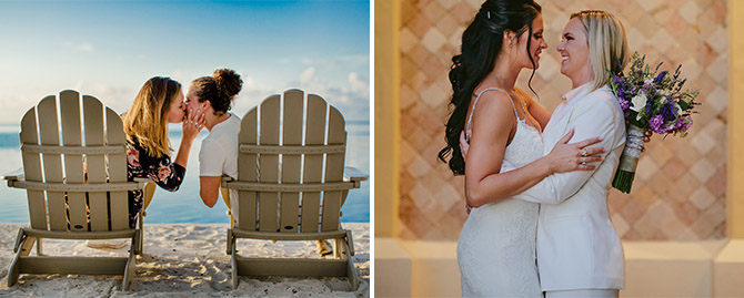 Florida LGBT Beach Weddings - Tiny House Photo LGBT Wedding Photographer