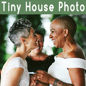 Tiny House Photo LGBT Wedding Photographer