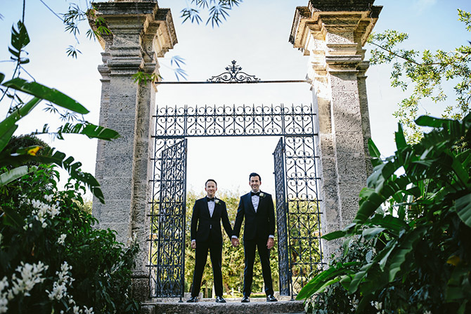 Gay Wedding Florida - Tiny House Photo LGBT Wedding Photographer