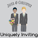 Central Florida LGBT Wedding Invitations