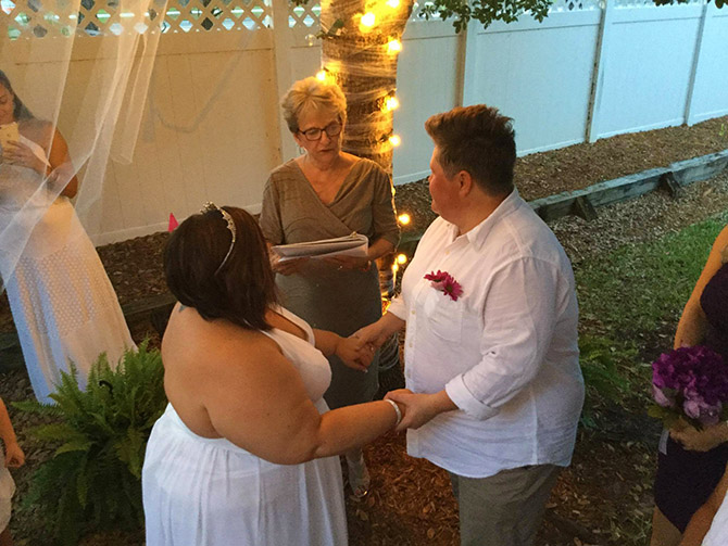 Jacksonville LGBTQ Wedding Ceremony - Weddings and More by Deb