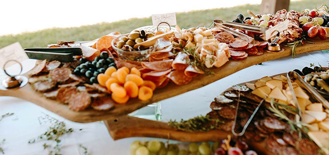 Appetizers - North Georgia Mountains - LGBT Wedding Venue - Willow Creek Farm