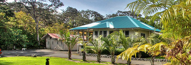 Aloha Junction B & B - Plantation Home located in Volcano Village