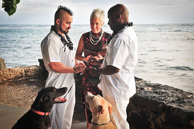Hawaii and marriage ceremonies