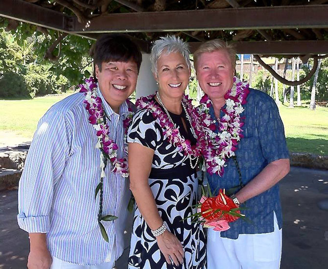 I Do Hawaiian Weddings - Oahu LGBT Wedding Ceremony