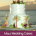 Maui, Hawaii Gay Wedding Cakes