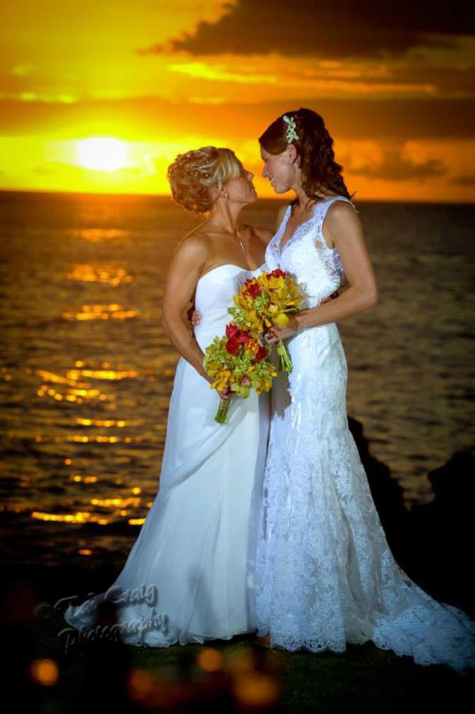Hawaiian Island Lesbian And Gay Wedding Packages Purple