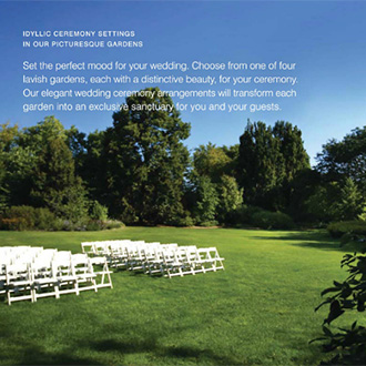 Wheaton illinois lgbt friendly wedding venue cantigny park for Cantigny le jardin