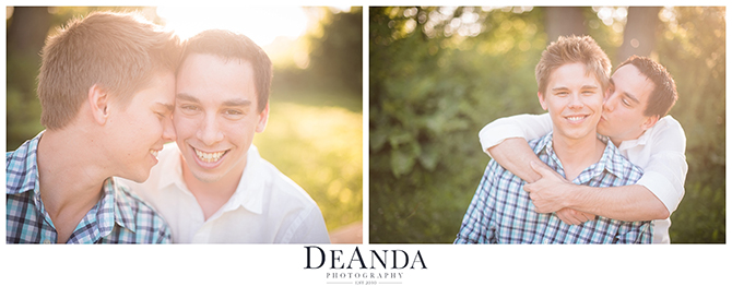 LGBT Engaygement shoot in the park - DeAnda Photography - Chicago, IL