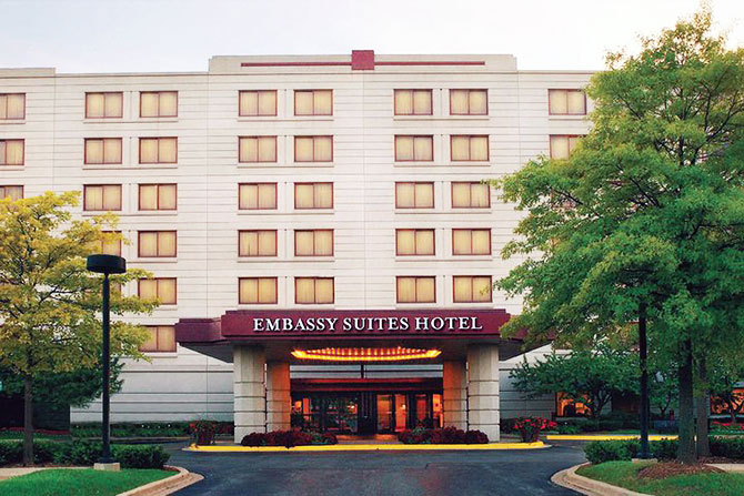 Emby Suites Chicago North S Deerfield Friendly Hotel Accommodations