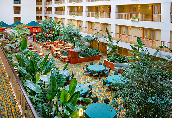 Embassy Suites Chicago Ohare Rosemont