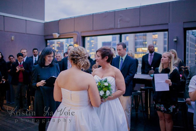 Illinois LGBT wedding - Flow Ceremonies