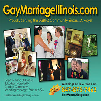 Gay Wedding Chicago Site - gay marriage illinois