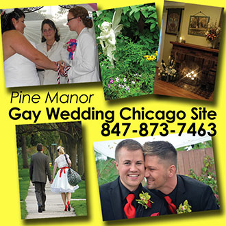 Gay Wedding Chicago Site Pine Manor