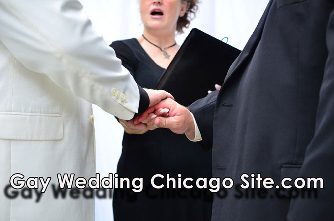 Gay Wedding Chicago Site Reverend Pamela