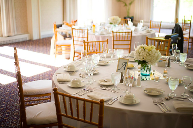 Highland Park Country Club - Dining Table