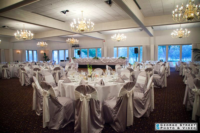 Highland Park Country Club - Reception Banquet Room