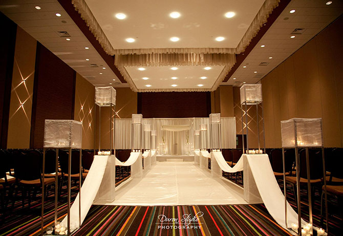 Midwest Conference Center - Ceremony setup