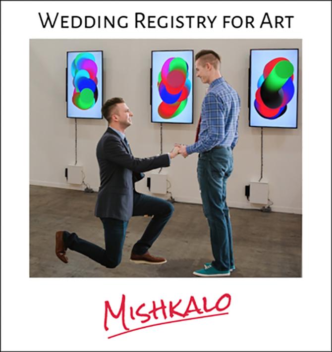 from Emmitt gay wedding registry