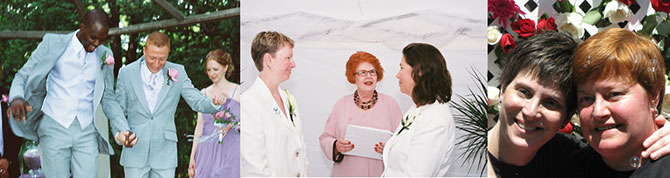 Rose LifeCycle Ceremonies - Married gay and lesbian couples