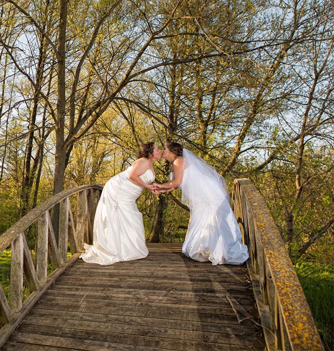 Outdoor Wedding Illinois: Chicagoland, Illinois LGBT Wedding Venue