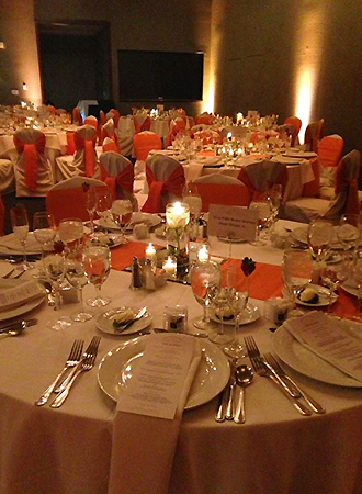 The Stonegate Conference and Banquet Centre - Candlelit Dining Tables