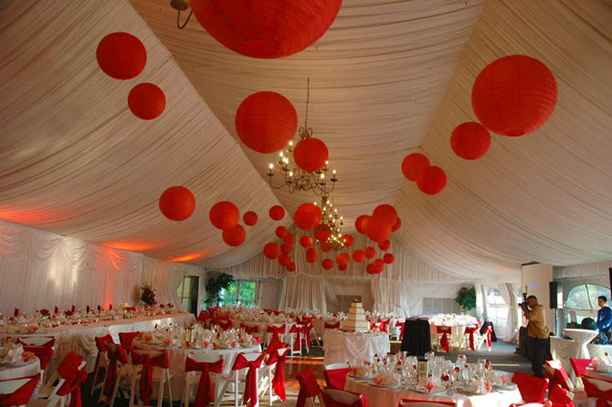 The Stonegate Conference and Banquet Centre - Outdoor tented wedding reception venue