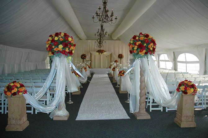 The Stonegate Conference and Banquet Centre - Tented Wedding Site