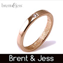 Gay Wedding Rings - Brent Jess William Designs
