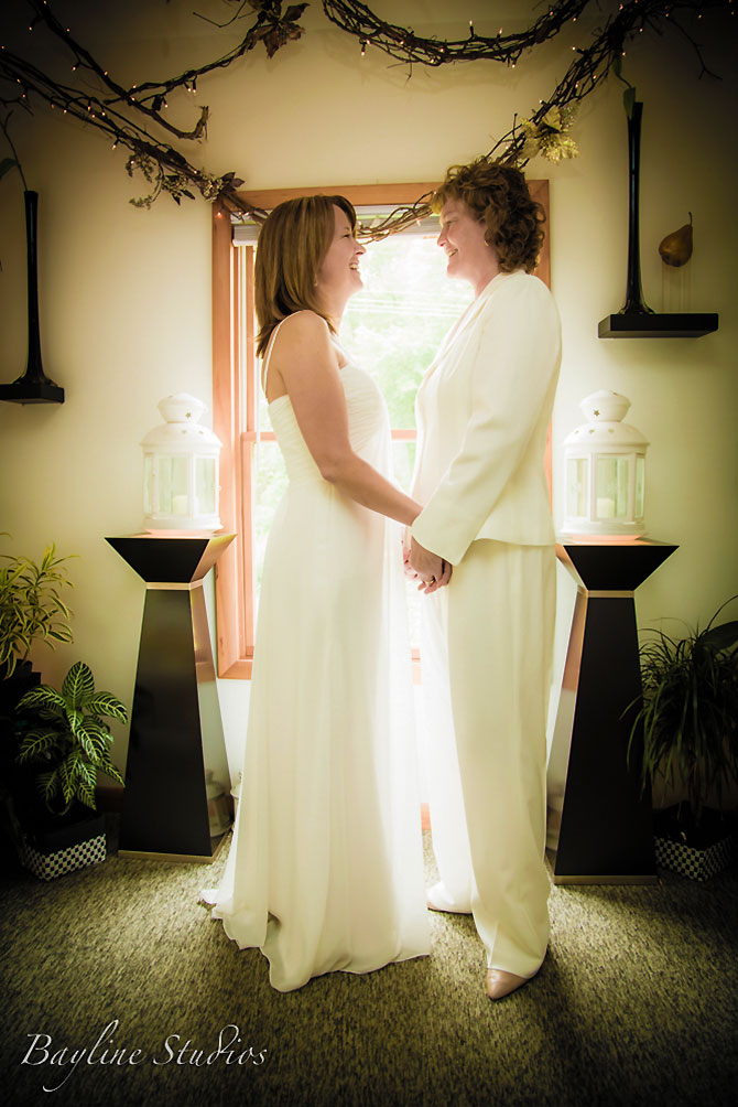 Bayline Studios Photography and Events - LGBT Wedding Ceremony Photo