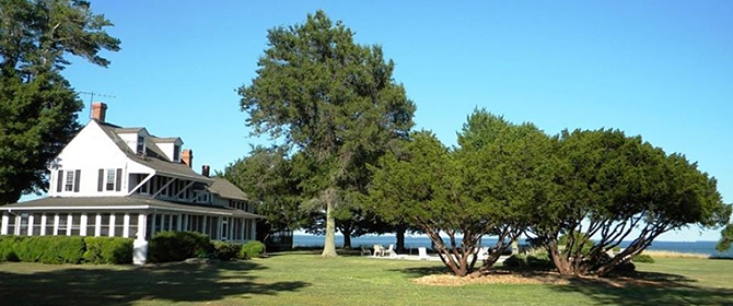 Black Walnut Point Inn - Maryland private island estate