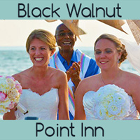Black Walnut point Inn LGBT Wedding Bed & Breakfast in Maryland