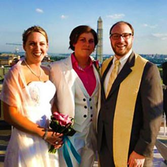 Ceremony Officiants Ellicott City Maryland Lesbian Brides