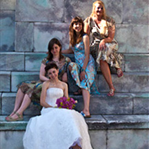 Photographic Pages - Bride and maids