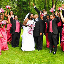 Photographic Pages - Bridal party