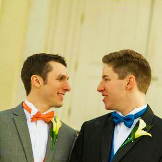 Historic Oakland Columbia Maryland Gay Couple Face To Face