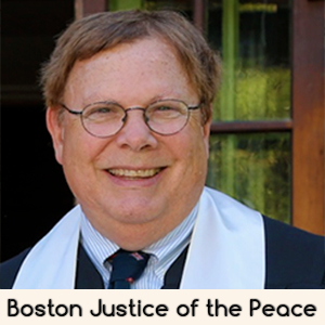 Boston Justice of the Peace Alan Ulrich Gay Wedding Officiant in Boston Massachusetts