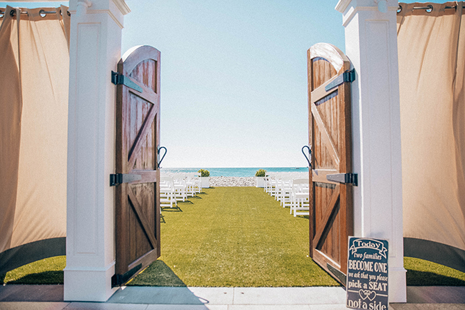 Beach Wedding Ceremony - Nahant, MA LGBT Wedding Reception Venue - The Oceanview of Nahant