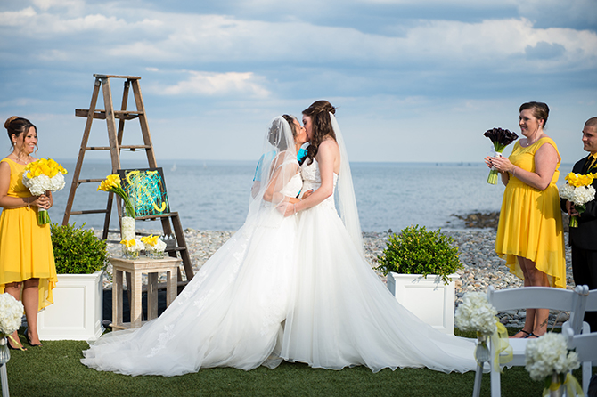 LGBTQ Wedding - Nahant, MA LGBT Wedding Reception Venue - The Oceanview of Nahant