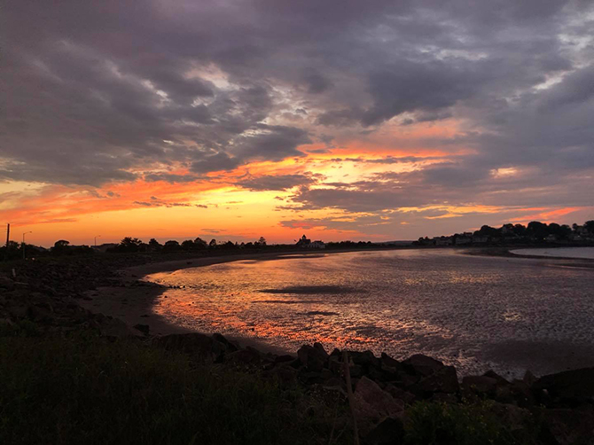 Beach Sunset - Nahant, MA LGBT Wedding Reception Venue - The Oceanview of Nahant