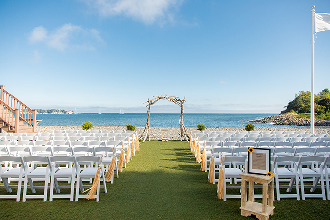 North Shore Beach Wedding Ceremony - Nahant, MA LGBT Wedding Reception Venue - The Oceanview of Nahant