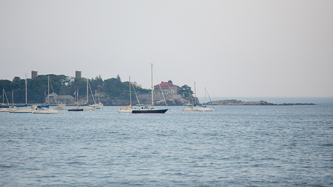 North Shore Sail Boats - Nahant, MA LGBT Wedding Reception Venue - The Oceanview of Nahant