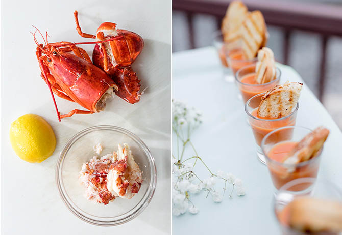 Lobster, Tomato Soup and Grilled Cheese - Nahant, MA LGBT Wedding Reception Venue - The Oceanview of Nahant