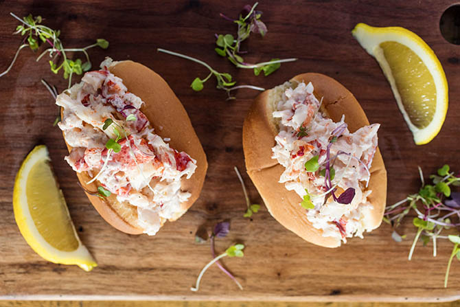 Lobster Rolls - Nahant, MA LGBT Wedding Reception Venue - The Oceanview of Nahant