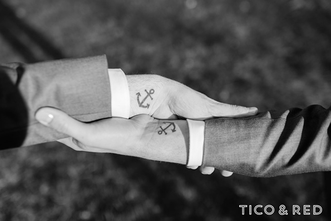 The Endicott Estate In Dedham Massachusetts Gay Couple Hand Embrace With Tattoos